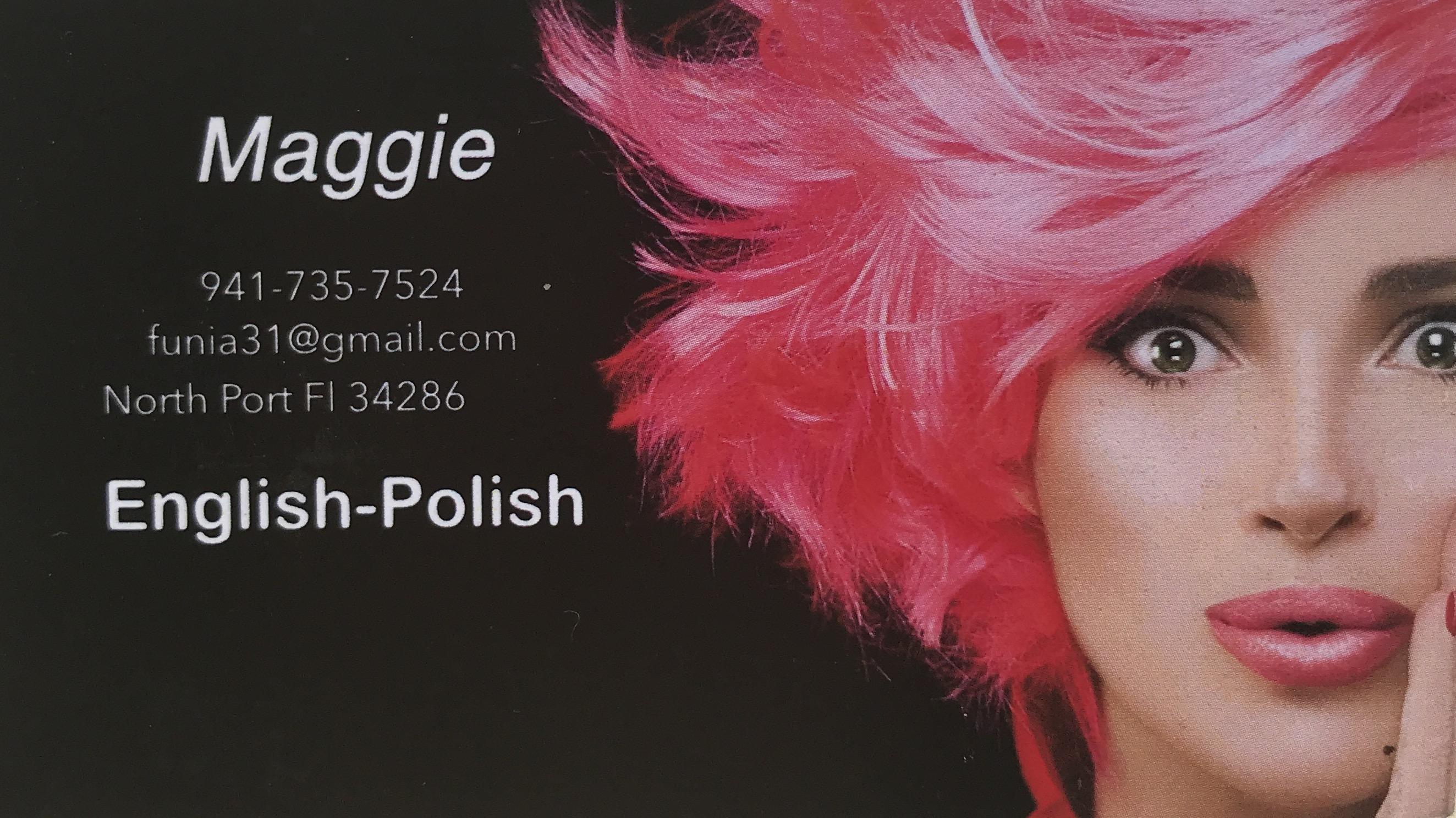 Maggie-Polish-Hairstylist, Hair Stylist : Polska Fryzjerka – Maggie – Sarasota County